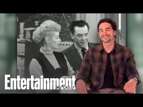 Ramón Rodríguez really loves Lucy (and 'Thundercats')