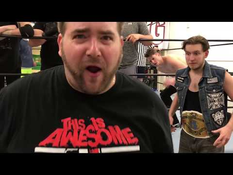 HUGE HEEL TURN - OUTTA NOWHERE! GTS Wrestling TAG TEAM CHAMPIONSHIP Match CHAOS!