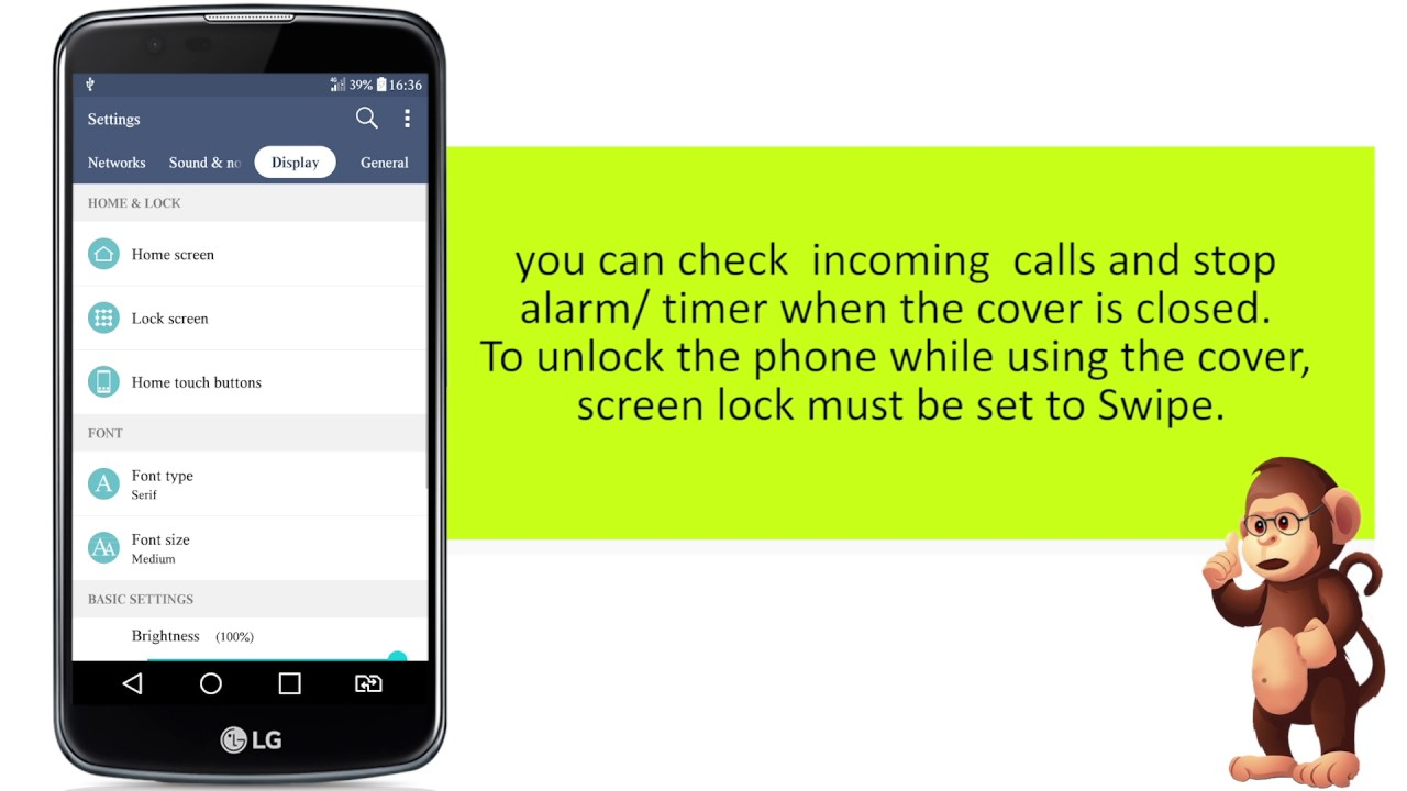How To Use Quick Cover View On LG smart phones user guide support