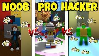 NOOB vs PRO vs HACKER | Bee Swarm Simulator *FUNNY EASTER VERSION* (Roblox)