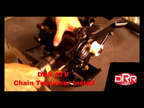 DRR USA ATV Swing Arm Chain Tensioner Install - YouTube