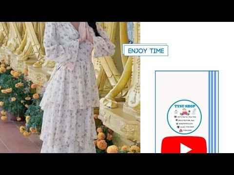 Dạy Cắt May Áo Đầm Tầng | 745| Tysushop|sewing diy clothes