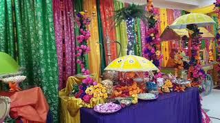EDIBLE FOOD DISPLAY AT MEHNDI EVENT 2018/2019 - PAKISTANI/INDIAN WEDDING STAGES