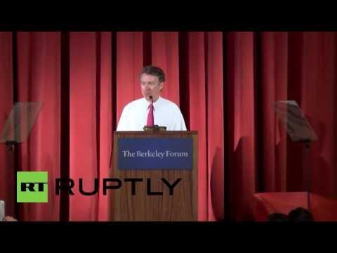 "USA: Rand Paul calls US intelligence community ""drunk with power"""