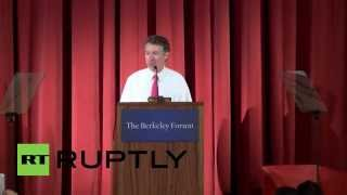 "USA: Rand Paul calls US intelligence community ""drunk with power"""