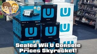 New Wii U Console Prices Skyrocket