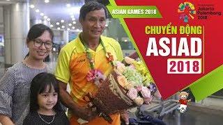 ĐT Nữ Việt Nam về nước sau khi dừng chân tại ASIAD 2018   VFF Channel