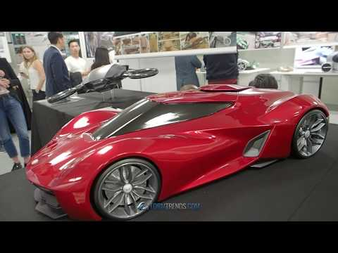 2018 Coventry University Automotive and Transportation Design Degree Show