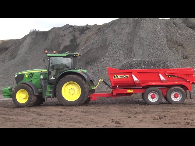 GRASSMEN TV AND HERRON H2 DUMP TRAILERS