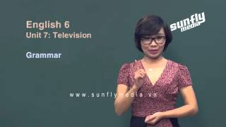 Gambar cover [Sunflymedia] Tiếng Anh 6 - Unit 7 Television