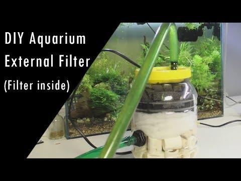 DIY - Build a Aquarium External Filter At Home - Filter inside