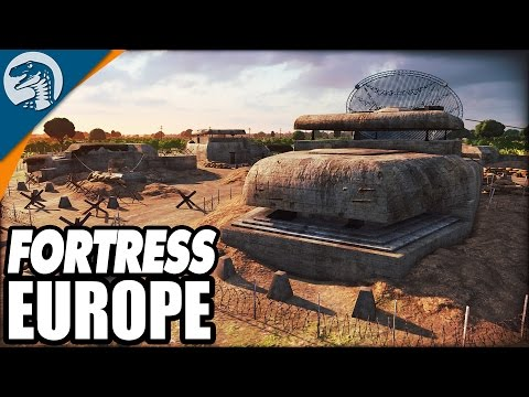 BIGGEST 10v10 GAME EVER, DEFENDING FORTRESS EUROPE D-DAY | Steel Division: Normandy 44