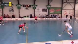 14. 4. 2019 MEX 2. finále play off, Tsunami Záhorská Bystrica - Florbalový klub AS Trenčín, SZFB