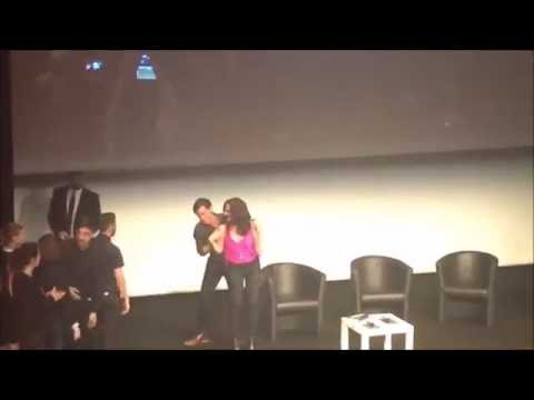 Lana Parrilla, Colin O'donoghue, Sean Maguire, Bex Mader saying goodbye to the fans at FT4 [HD]
