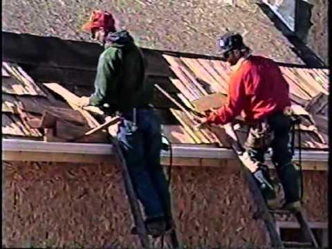 Roofing Cedar Shake Installation Youtube