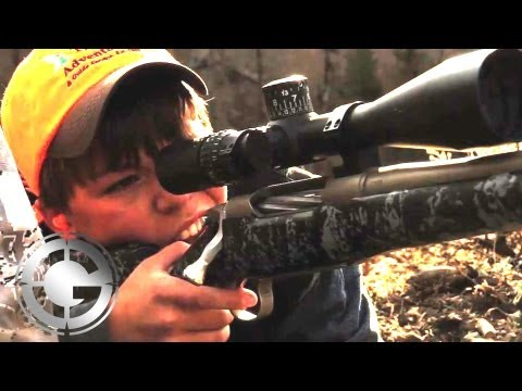 12-Year-Old Wallops Bull Elk at 1376 YARDS! - Long Range Hunting