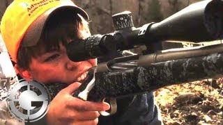 12-Year-Old Wallops Bull Elk at 1376 YARDS! - Long Range Hunting