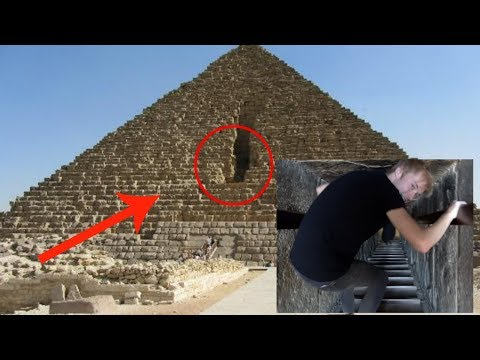 EXPLORING DEEP INTO THE PYRAMIDS!! w/ Sam and Colby and Elton
