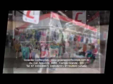 Goianão Confecções - Campo Grande MS - Www.goianaoconfeccoes.com.br