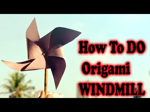How to Make Paper Windmill | Creative Origami Art Work | Easy Crafting Steps | By Alf Kids Station