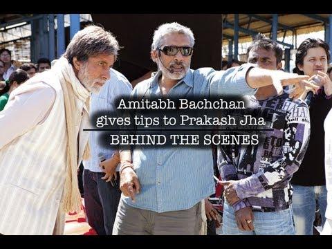 Satyagraha I Amitabh Bachchan gives tips to Prakash Jha I Behind the scene