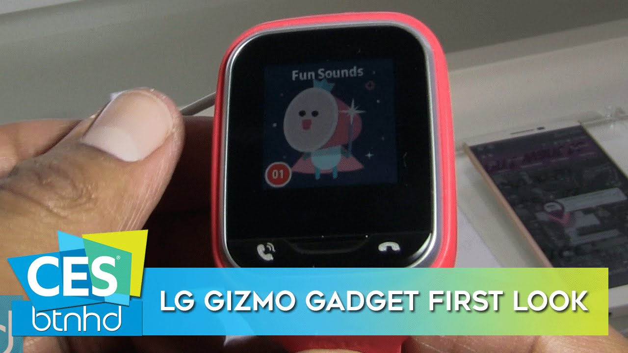 LG Gizmo Gadget First Look! - CES 2016