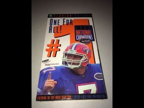 One for All: The Story of The 1996 Florida Gators Football