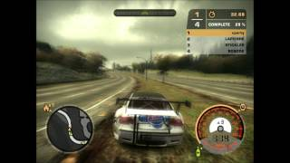 bmw m3 gt2 need for speed most wanted gameplay