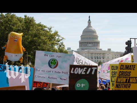 'We are on the frontlines': Youth descend on D.C. to strike against climate change