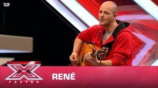 René synger 'Den jeg er' – Rasmus Seebach  (Audition)   X Factor 2020   TV 2