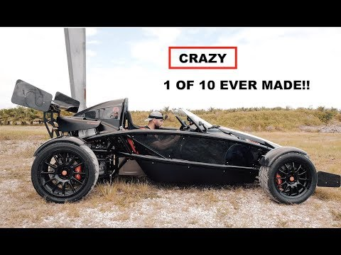 This exclusive Ariel Atom 3R Supercharged - 1 of 10 made is nuts!!