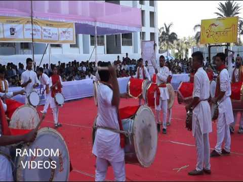 Dhol Tasha competition 2017 Nashik Sinhgarjana Dhol Tasha Pathak Nashik ( 1st Round )