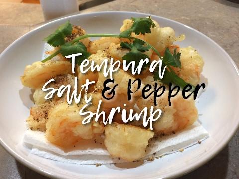 Tempura Salt & Pepper Shrimp (椒盐虾)