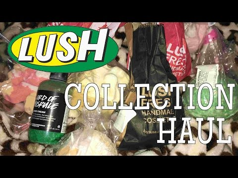 LUSH COLLECTION HAUL | Kinsey Elizabeth