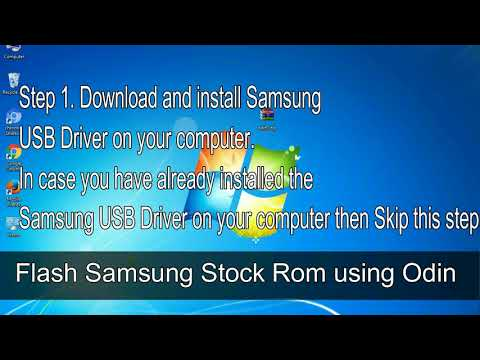 How to Samsung Galaxy Y Pro GT B5510 Firmware Update (Fix ROM)