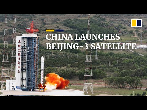 China launches Long March 2D rocket carrying Beijing-3 and three other satellites
