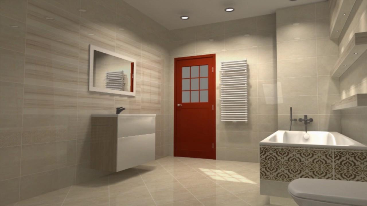 Aranżacja łazienki Paradyż Coraline