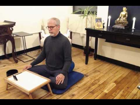 Meditation Instruction with Michael Rogan - New York Buddha Dharma