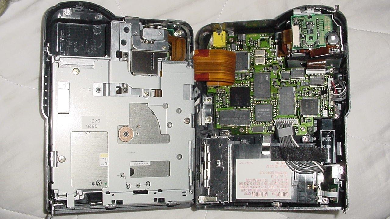 Inside Sony Mavica cameras - who made the high-speed floppy drives?