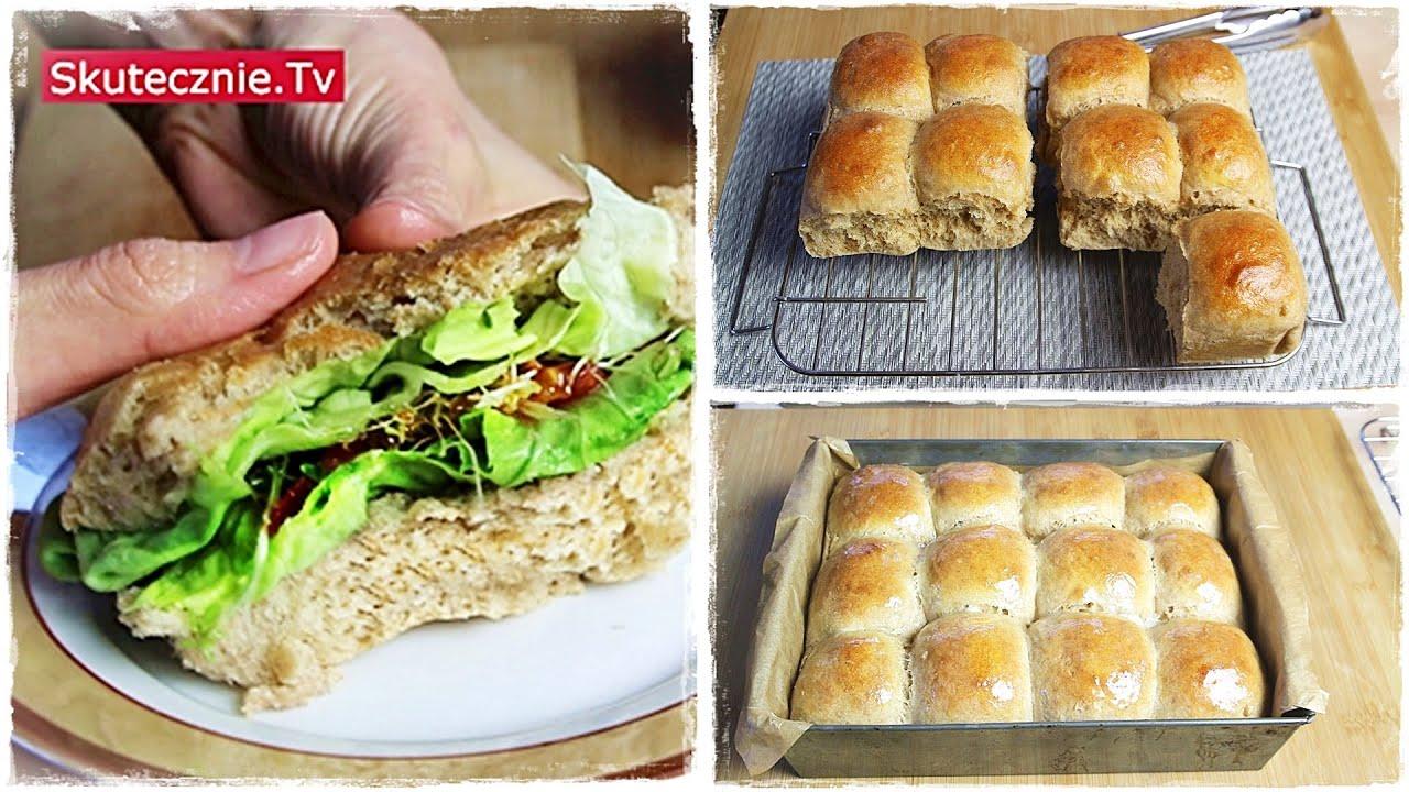 Najlepsze Drozdzowe Buleczki Bez Wyrabiania Do Burgerow Na Obiad I