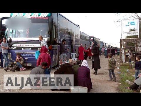 Syria: Many killed as blast hits evacuation convoy in Aleppo