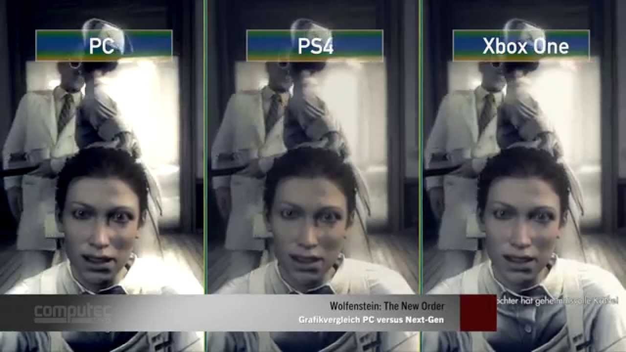 Wolfenstein: The New Order PS4 vs. Xbox One Frame-Rate Test - YouTube