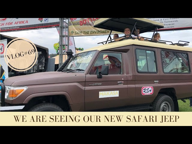 Seeing our new Safari Jeep for the first time | Makasa Tanzania Safari | VLOG #69