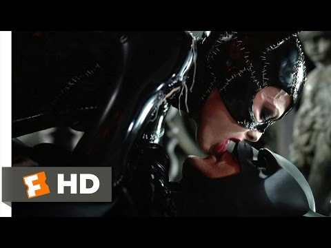 Batman Returns (6/10) Movie CLIP - A Deadly Kiss (1992) HD