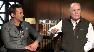 Robert Downey Jr. and Robert Duvall on 'The Judge' and best actors they've worked with Thumb