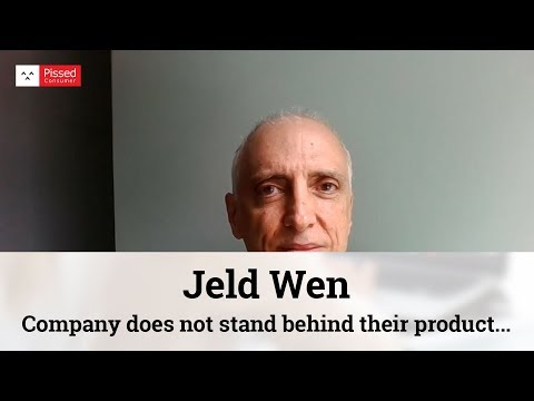 Jeld Wen By Home Depot Reviews - Warranty Is A Joke @ Pissed Consumer Interview