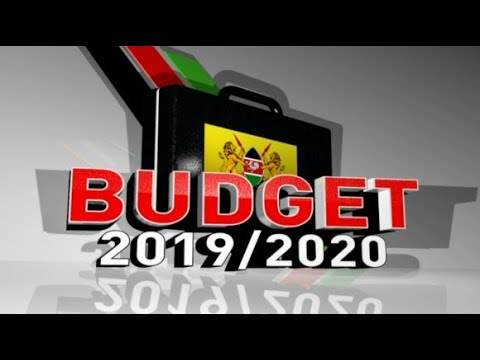 : Budget 20192020 Tabling From Parliament