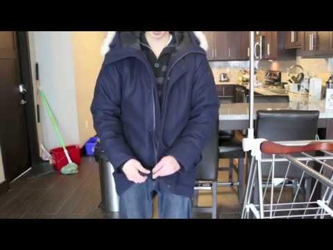 Canada Goose expedition parka replica official - Canada Goose D'alpago Bomber Review - KZQQ - YouTube