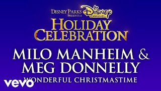 Milo Manheim, Meg Donnelly - Wonderful Christmastime (Audio Only)