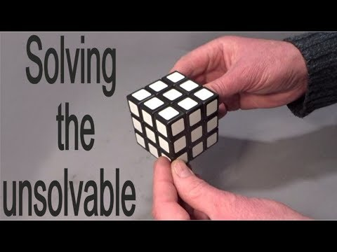 How to solve an unsolvable Rubik's Cube puzzle